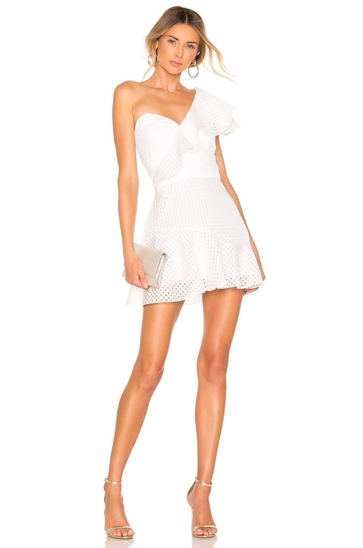 AMANDA UPRICHARD Mckinnon White Dress