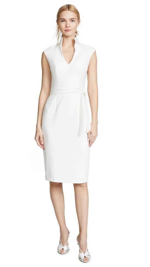 BLACK HALO Brittan White Dress