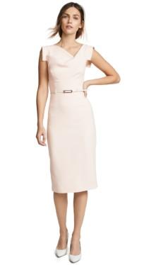 BLACK HALO Jackie O Pink Dress