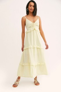 FREE PEOPLE Belong To You Tiered Maxi Dress