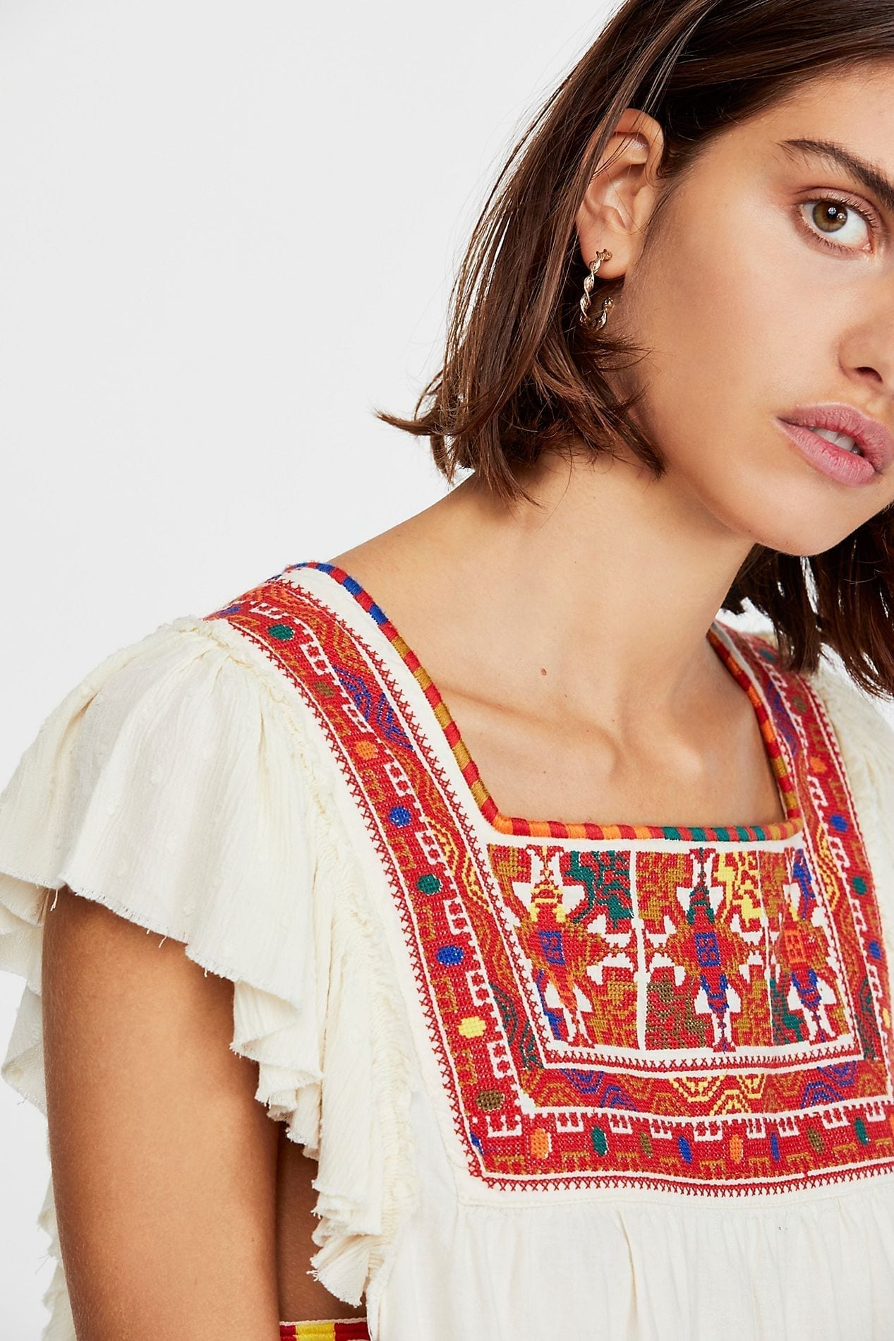 91f329ae4e7 FREEPEOPLE Day Glow Mini White Dress - We Select Dresses