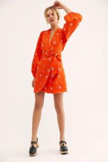 FREEPEOPLE Posies Mini Cherry Dress