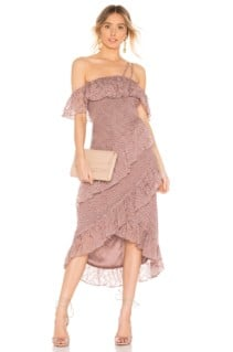 HOUSE OF HARLOW 1960 x REVOLVE Reno Mauve / Purple Dress