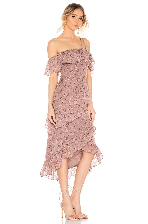 HOUSE OF HARLOW 1960 x REVOLVE Reno Mauve / Purple Dress