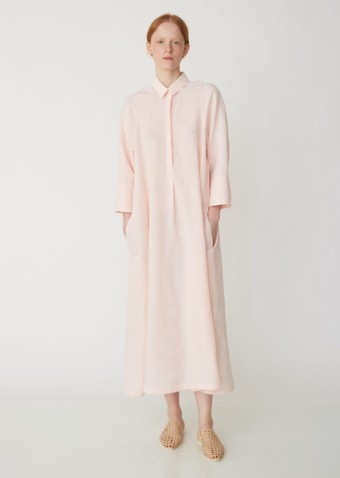 JIL SANDER Galalite Shirt Light Pink Dress