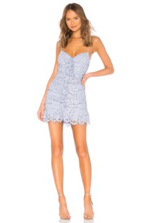 NBD Marvin Mini Lilac Dress