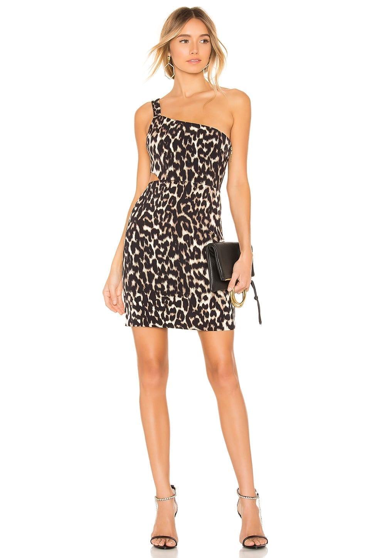 NBD X Naven Cara Brown Dress