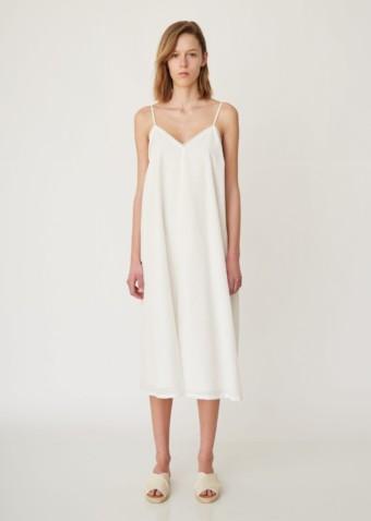 PAS DE CALAIS Petite Slip White Dress