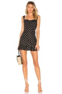 PRIVACY PLEASE Lily Mini Black Dress