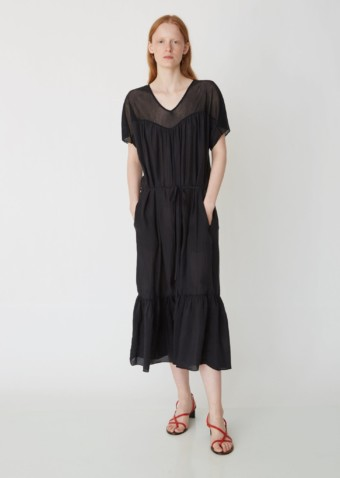RAQUEL ALLEGRA Sweetheart Black Dress