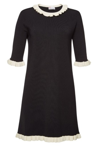 RED VALENTINO Mini Black Dress