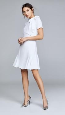 SHOSHANNA Bosher Ivory Dress
