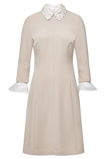 STEFFEN SCHRAUT Embellishment Florence Midi Beige Dress