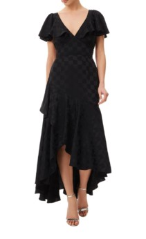 TEMPERLEY LONDON Cyndie Black Dress