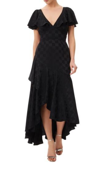 TEMPERLEY LONDON Cyndie Black Dress