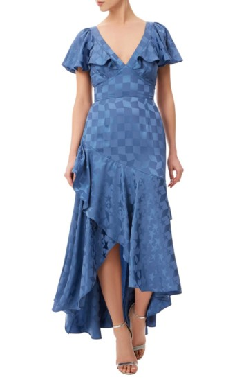 TEMPERLEY LONDON Cyndie Blue Dress