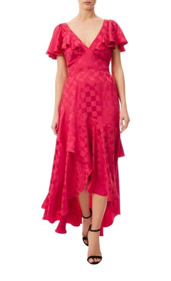 TEMPERLEY LONDON Cyndie Red Dress