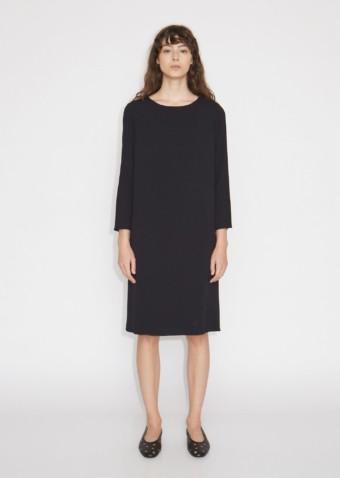 THE ROW Larina Black Dress