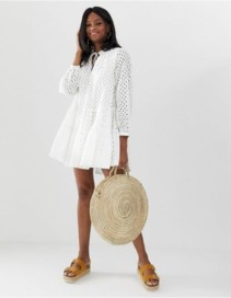 ASOS DESIGN Tiered Trapeze