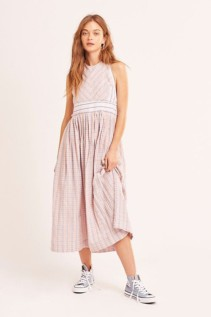 FREE PEOPLE Color Theory Midi Dress