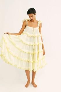 FREE PEOPLE Iva Biigdres Midi Dress
