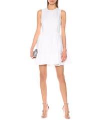 ALEXANDER MCQUEEN Lace-Up Cotton White Dress