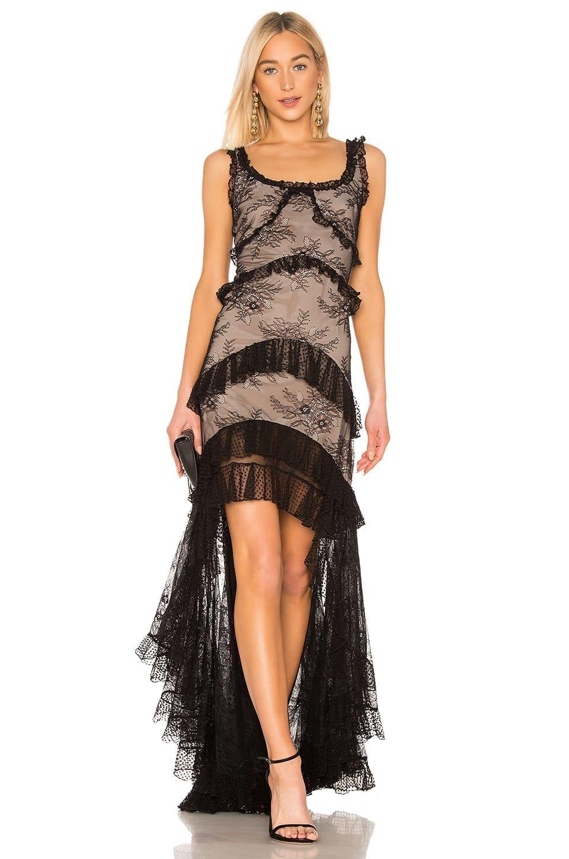 ALEXIS Timotha Black Gown