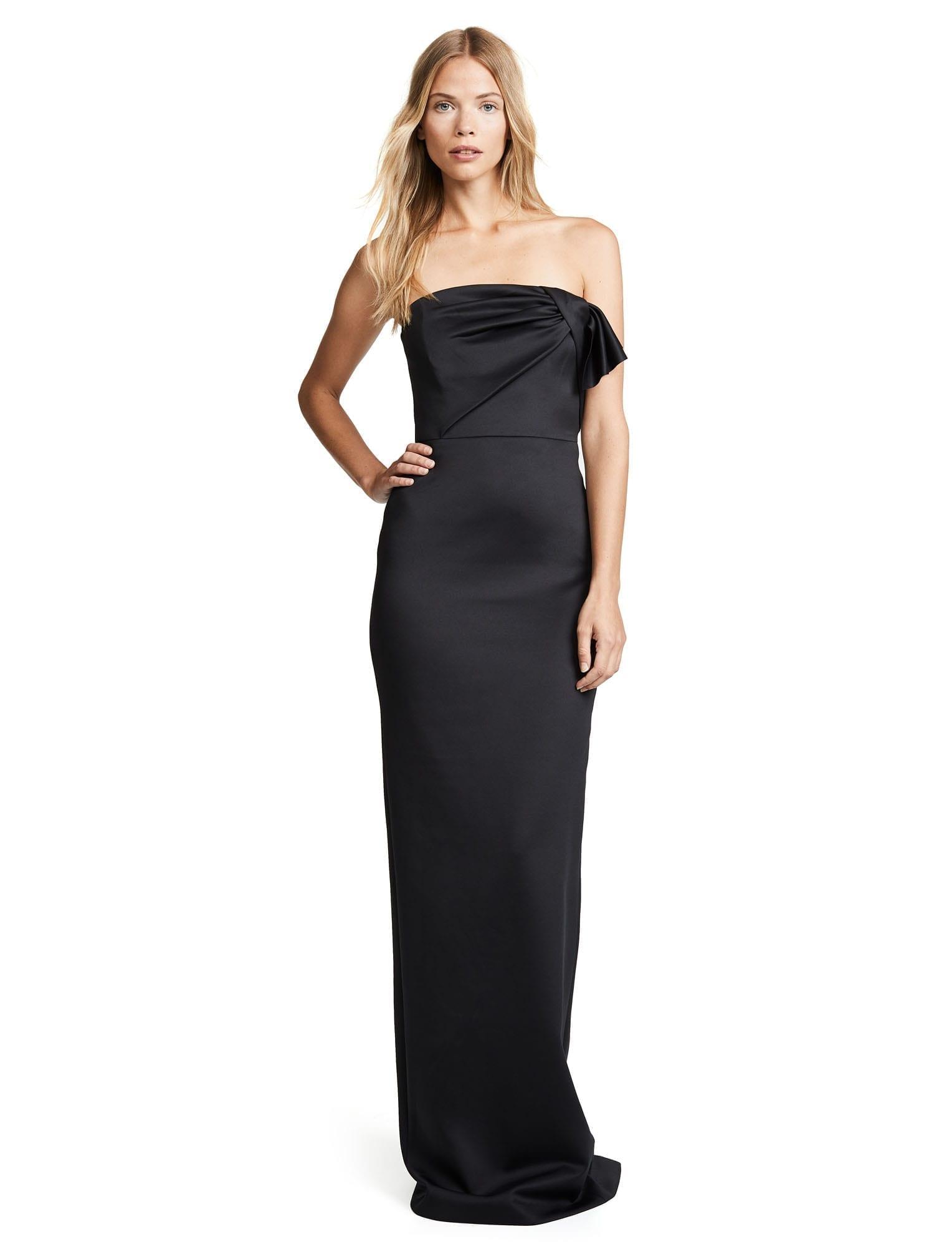 BLACK HALO Divina Black Gown