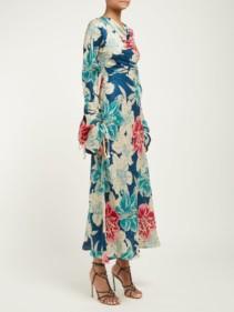 ETRO Tamarindo Beach Silk-Jacquard Dress