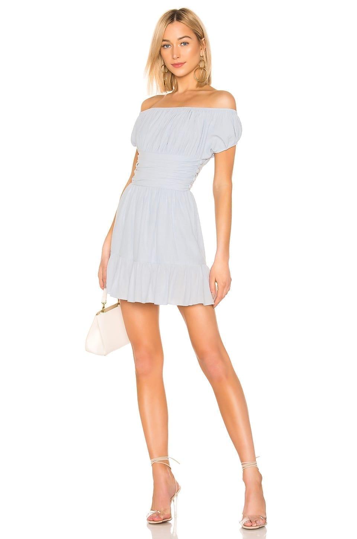 e0b81e872b52 HOUSE OF HARLOW 1960 x REVOLVE Daphne Light Blue Dress - We Select ...