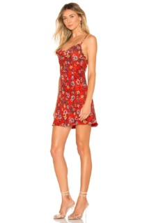 HOUSE OF HARLOW 1960 X REVOLVE Ira Mini Red Floral Dress