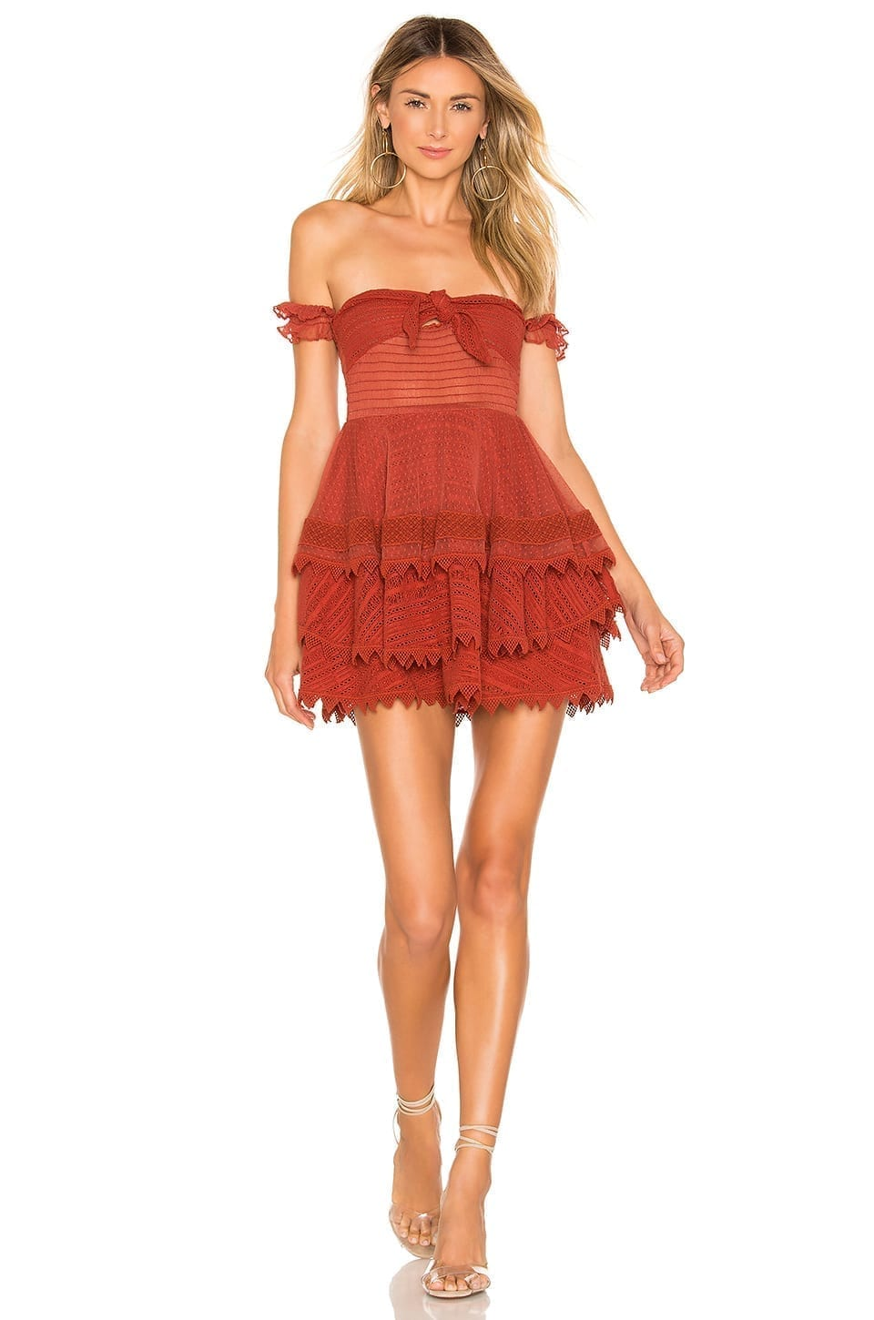 HOUSE OF HARLOW 1960 X REVOLVE Gaines Red Dress