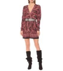 ISABEL MARANT Wyle Stretch Jersey Mini Black Dress