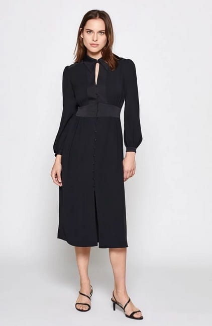 JOIE Linaeve Black Dress