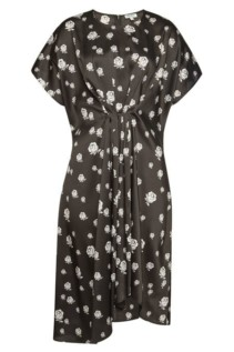 KENZO Printed Mini Black Dress
