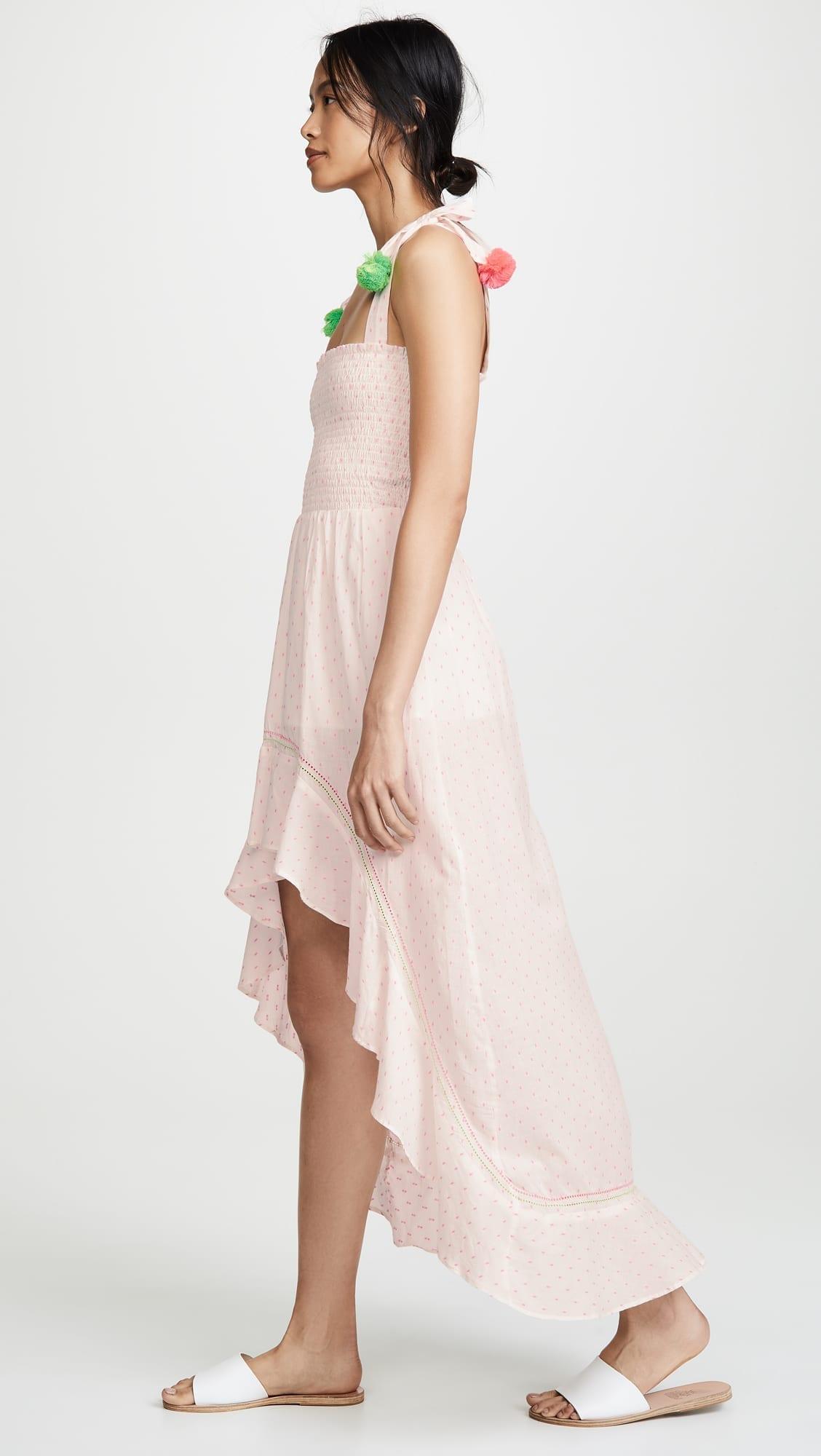 Kos Resort Pom Pom Pink Dress We Select Dresses