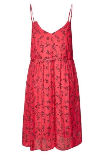 LALA BERLIN Kaday Printed Mini Pink Dress