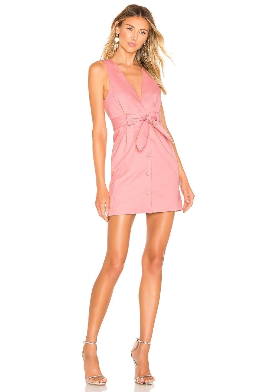 LOVERS + FRIENDS Norah Mini Pink Dress