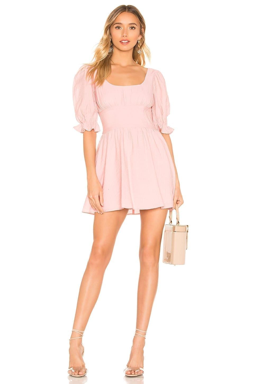 LOVERS + FRIENDS Vernice Mini Pink Dress