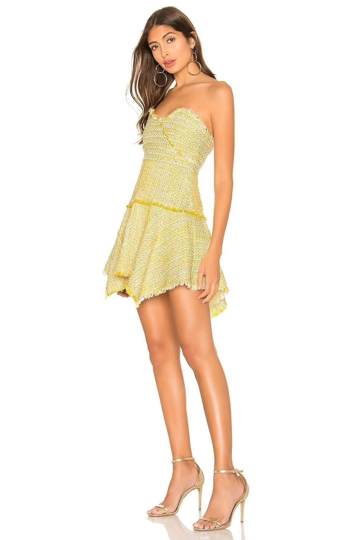 LOVERS + FRIENDS Abby Mini Sun Yellow Dress