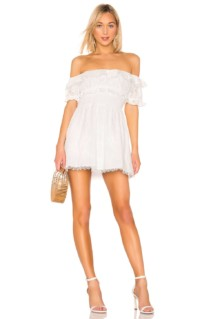 LPA Norina White Dress
