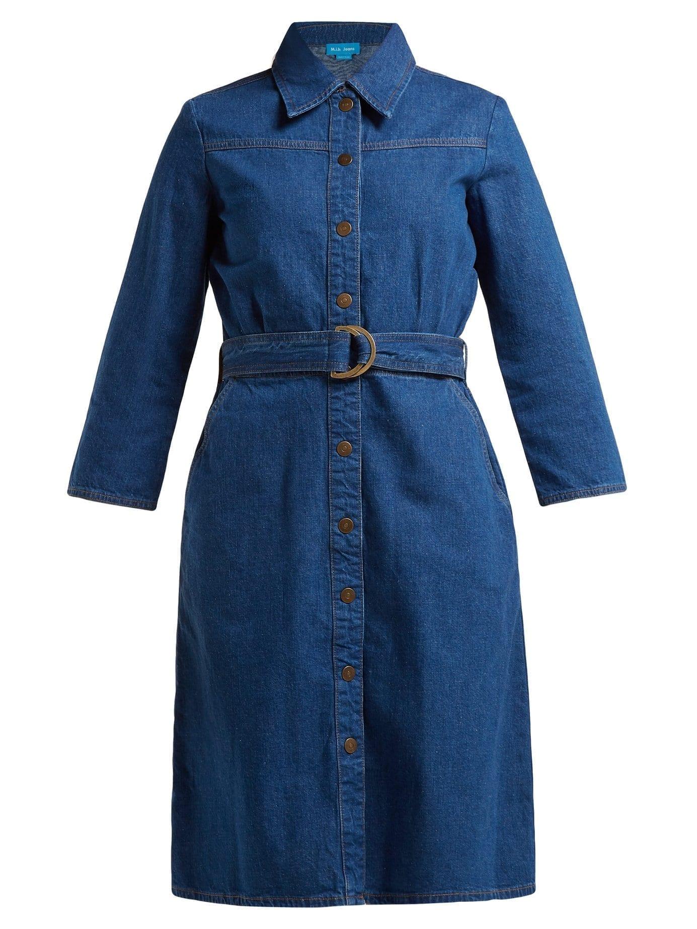 9d6cecc0a05 M.I.H JEANS Aria Denim Shirt Blue Dress - We Select Dresses