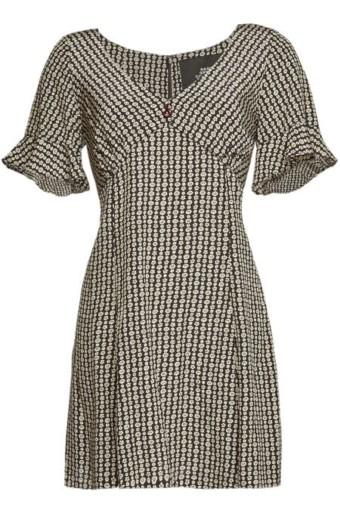MARC JACOBS Printed Silk Mini Dress