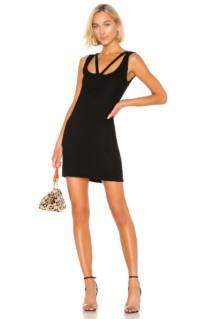 MICHAEL LAUREN Barry Black Dress