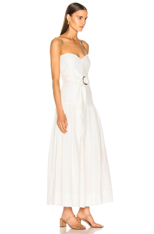 b9edc6aaa7 MARA HOFFMAN Augustina White Dress - We Select Dresses