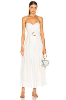 MARA HOFFMAN Augustina White Dress