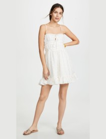 RED CARTER Ruby White Dress