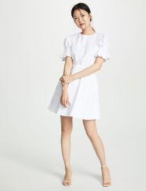SALONI Ciara White Dress