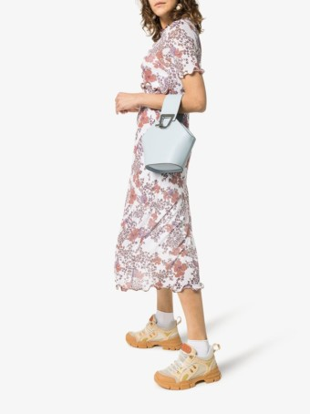 SEE BY CHLOÉ Stretch Midi Multi / Floral Printed Dress