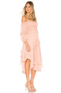SPELL & THE GYPSY COLLECTIVE Clementine Mermaid Pink Dress